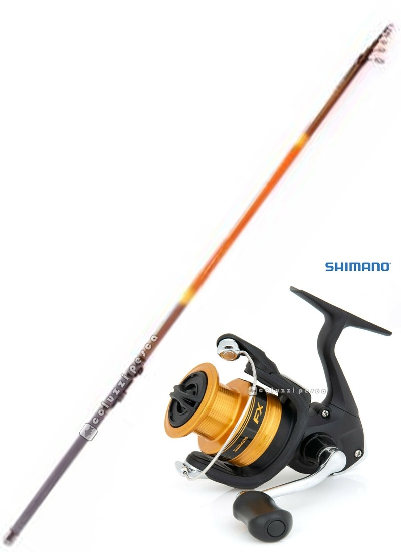Combo Bolognese GF Luxury 6 m + Shimano FX 2500 FC