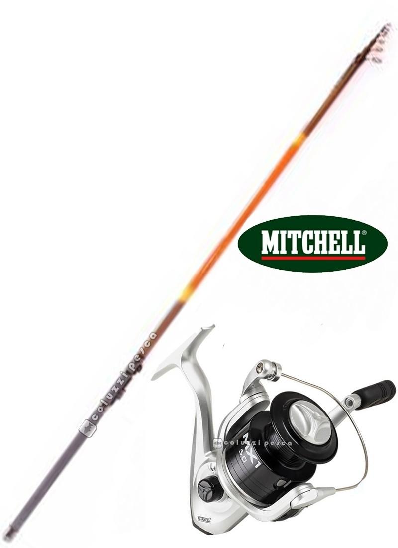 Combo Bolognese GF Luxury 6 m + Mitchell MX1 FD 2000