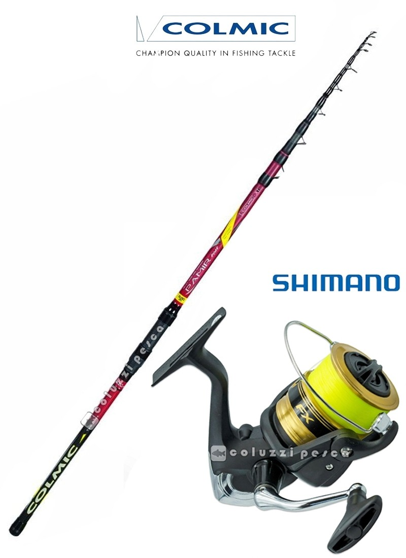 Combo Barca Pamir Boat 250 g 200+FX 4000 FCL Spooled