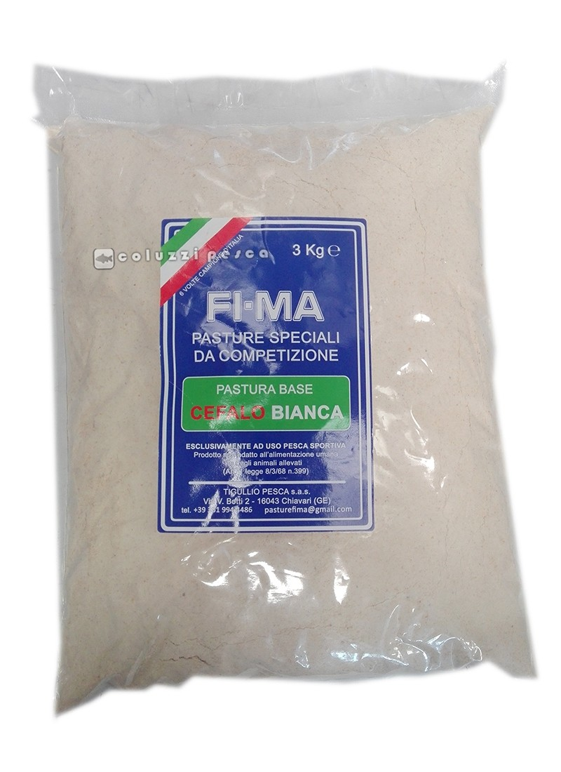 Pastura Fima Fi-Ma Cefalo Bianca 3 Kg
