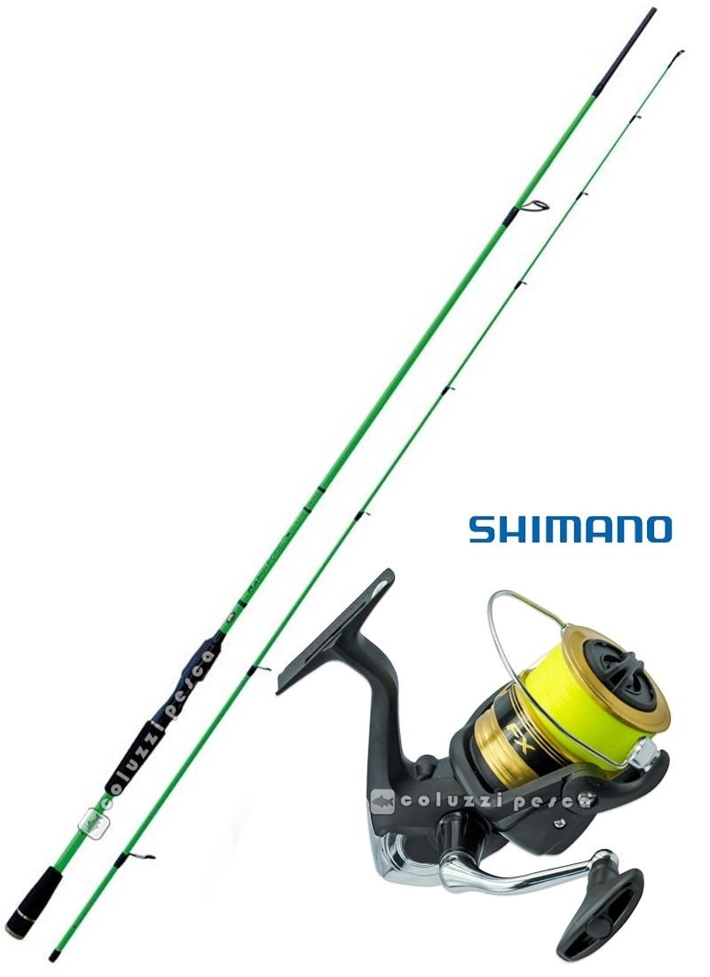 Combo Eging Rapid Eging 240 + Shimano FX 4000 FCL