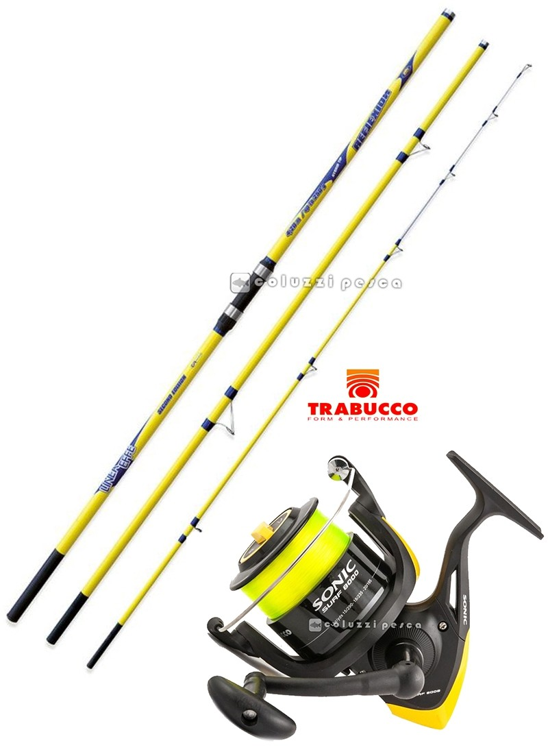 Combo Surf Casting Reflexion 250 g+Sonic XS Surf 8000