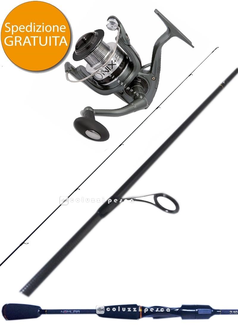 Combo Spinning Samurai 240 g 7-35 + Rapid Onix FD 4000