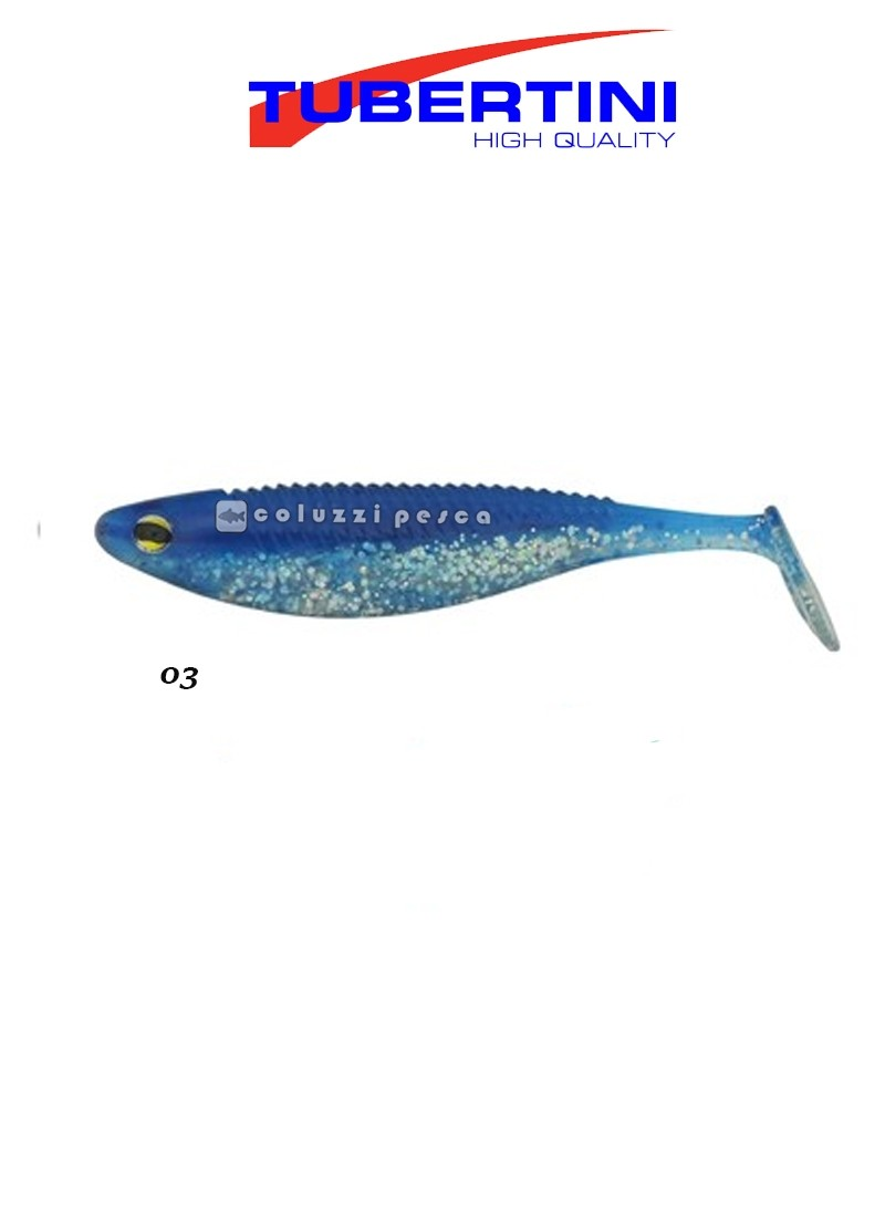 Artificiale Tubertini Soft Lures TB500 Pz 10 mm 83 Col 03