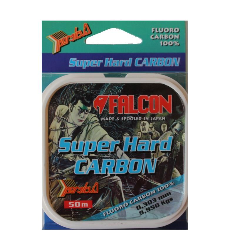 Fluorocarbon Falcon Super Hard Carbon 50 m