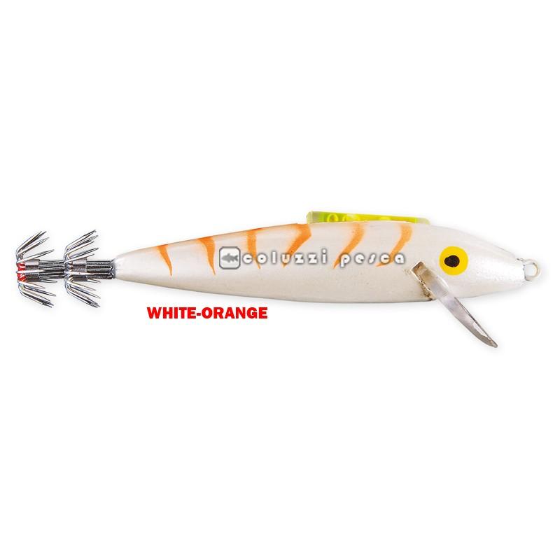 Totanara Squid Troll 10 cm Mis 3.0 White-Orange