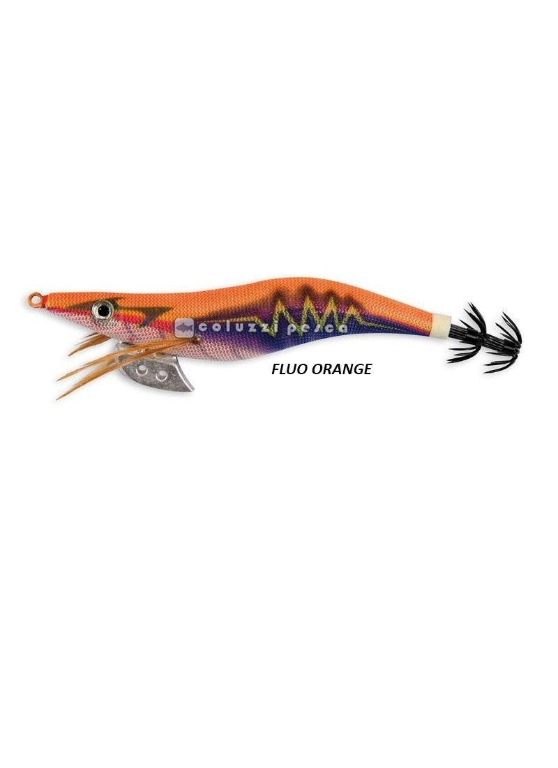 Totanara Thunder Squid Jig Fluo Orange