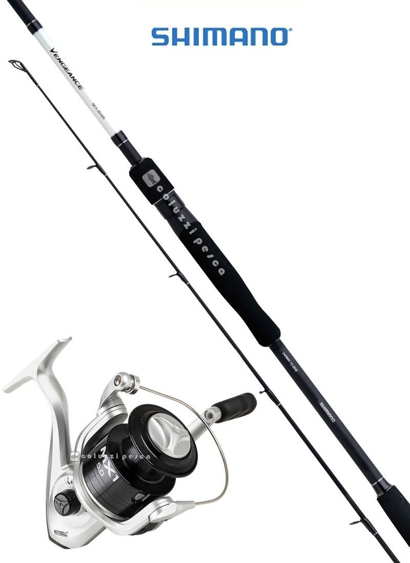 Combo Spinning Vengeance CX Sea Bass 210 g7-35+MX1 FD 4000