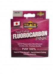 Filo Fluoro Carbon Pink 75 m PVDF100% Track Line