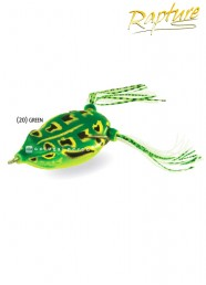 Artificiale Rapture Dancer Frog 5.5 cm 14 g Green