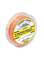 Filo Asso Tapered Shock Leaders 5x15 m Arancio