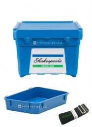 Cassettone Shakespeare Seat Box Blue