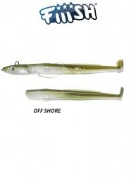 Fiiish Black Eel Combo n 3 Kaki Off Shore 40 g