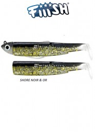 Fiiish Combo Black Minnow 120 mm N 3 g 12 Noir-Or