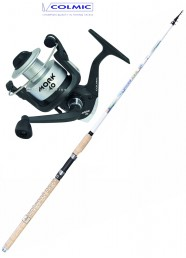 Combo All Rounder Cronos 390+Colmic Mork 6000