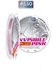Filo Fluoro Carbon Asso Invisible Pink 30 m
