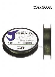 Trecciato Daiwa J Braid X4 Dark Green 135 m