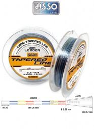 Filo Conico Asso Tapered Line 220 m Multicolor