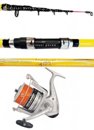 Combo Surf Icarus Surf 120 g+Oceanic Pro Surf 8000