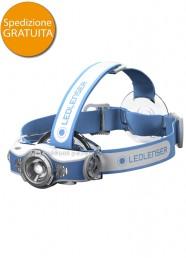 Lampada Frontale Led Lenser MH11 Bluetooth Blu