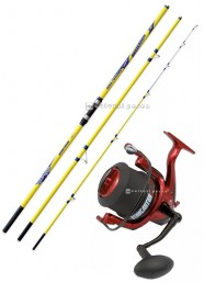 Combo Surf Casting Reflexion 250 g+Starcaster 7000
