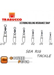 Girella con Moschettone Trabucco X-Strong Rolling Insurance Snap Art 10081