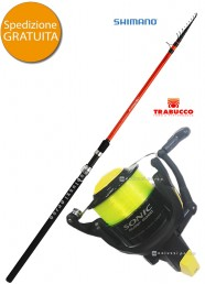 Combo Surf Casting Sonora TE 200 g+Sonic XS Surf 8000