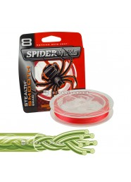 Multifibre Spiderwire Stealth Smooth 8 Red 150 m