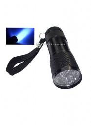 Lampada Torcia Attivatrice 9 Led UV