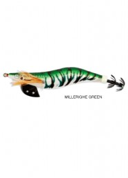 Totanara Ferrari Black Edition Squid Jig Millerighe Green