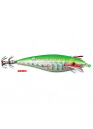 Totanara Holo Squid Diki Diki  3.0 - 9 cm Green