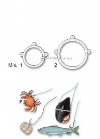 Anelli Elastici per Esche Medium Mis.1 Stonfo Art 596