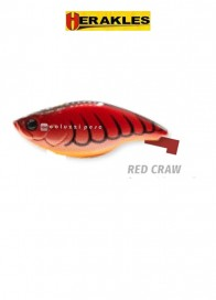 Artificiale Herakles Blaze 73 Rattle Red Craw