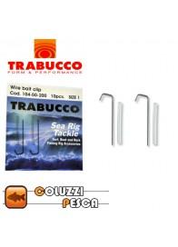 Wire Bait Clip Trabucco Misura 1