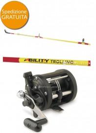 Combo Traina Bulox Ability 20-50 Lb+Shimano TR 200