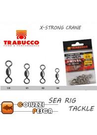 Girella X Strong Crane Acciaio Trabucco 10074