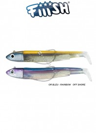 Fiiish Doppio Combo Black Minnow 120 mm N 3 25 g Or Bleu Rainbow