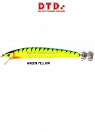 Totanara DTD Sardina Calamari 130 mm Green Yellow