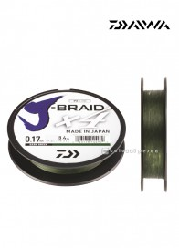 Trecciato Daiwa J Braid X4 Dark Green 270 m