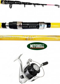 Combo Surf Icarus Surf 120 g+Mitchell MX1 FD 7000