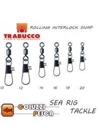 Girella con Moschettone Trabucco Rolling Interlock Snap Art 10080