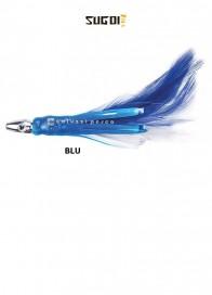 Piumetta Piombata Sugoi Flash Feather 76 mm Blu