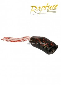 Artificiale Rapture Popper Frog 6 cm 15 g BLACK BLEEDING