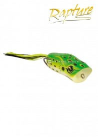 Artificiale Rapture Popper Frog 6 cm 15 g Leop Fluo Green