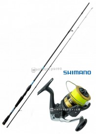 Combo Spinning Rapid Strong Spinn 240 + FX 4000 Spooled