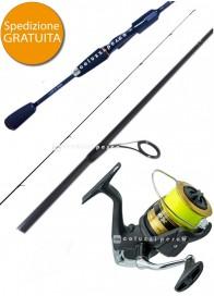 Combo Spinning Samurai 240 g 7-35 + FX 4000 FCL Spooled