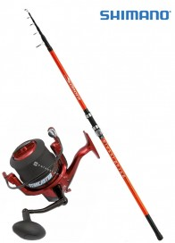 Combo Surf Shimano Sonora 200 g+Starcaster 7000