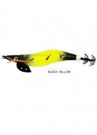 Totanara Ferrari Black Edition Squid Jig Black Yellow