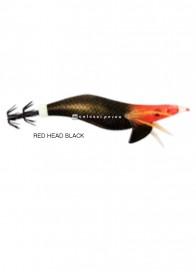 Totanara Seta Fluò Red Head Black